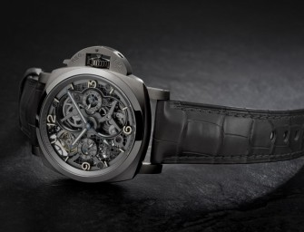 SIHH 2016: Panerai Lo Scienziato Tourbillon GMT