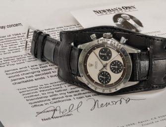 Paul Newmanov Rolex Daytona chronograph prodan za rekordnih 114.655.545 kn!